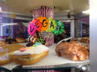 Variety of Vegan Donuts at Voodoo Doughnuts