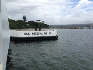 Pear Harbor Memorial, USS Arizona