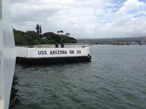 Pear Harbor Memorial, USS Arizona