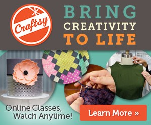 craftsy bring creativity to life banner