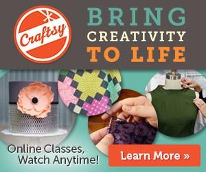 craftsy bring creativity to life banner