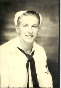 grandpa wwii navy uniform