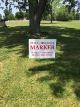 Poll Distance Marker